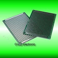 2X Doppelseitig  Lochrasterplatine Doublesided Prototype Board 5x7cm