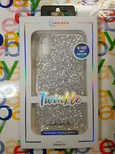 NEW Authentic Case-Mate Twinkle Iridescent Sparkle Case STARDUST for IPHONE XR