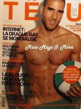 Tetu Magazine #104 10/2005 gay men french jocks soccer MALIK
