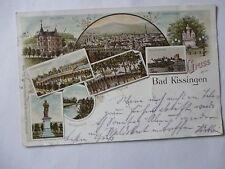 Ansichtskarte Bad Kissingen 1897