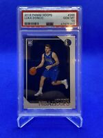 2018-19 NBA Hoops Luka Doncic Rookie Card RC #268 PSA 10 GEM MINT Mavericks I58