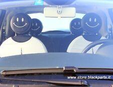 Einige kopfstütze LÄCHELN Black für Fiat 500