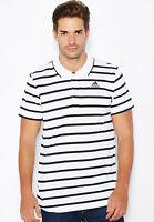 Adidas Polo UOMO t-shirt piqué CLIMALITE maglia casual sport e tempo libero