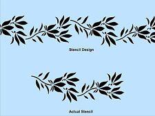 Wall Stencil, Plaster Stencil, Furniture Stencil, CHESTER VINE BORDER STENCIL