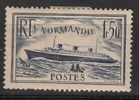 FRANCE TIMBRE NEUF N° 299 **  PAQUEBOT LE NORMANDIE