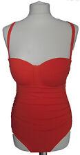 New Womens Orange NEXT Swimming Costume Size 10