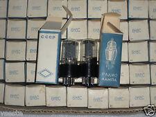 6N8S MATCHED PAIR / 6SN7 / ECC32 / 6CC10 / 1578.NOS NIB TUBES FROM 1960's FOTON