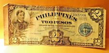 Philippines Two Peso Victory Note