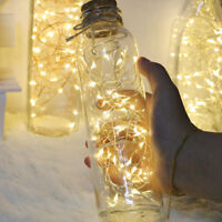 20 Led Bottle Cork Fairy String Lights Lamp Indoor for Christmas/ Tree/ Party