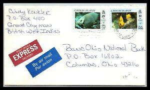 GP GOLDPATH: CAYMAN ISLANDS COVER 1990 AIR MAIL _CV676_P07