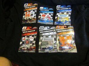 © 2018 NASCAR AUTHENTICS SUPERSTAR DRIVERS CAR DIE CAST 1:64 NEW MOC ~ CHOOSE 1