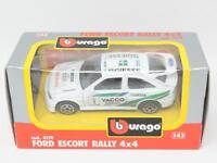 1:43 BBURAGO #4119 FORD ESCORT RALLY 4x4 BOXED [QA3-016]