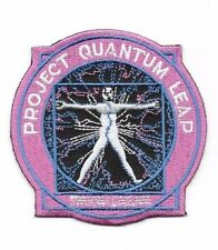 Quantum Leap Television Series Logo Premium Quality Embroidered Patch 3.5""