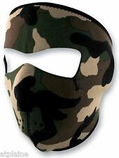 MASQUE NEOPRENE ZAN HEADGEAR CAMO Taille unique