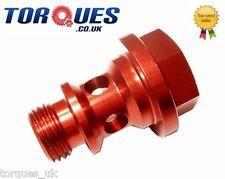 Weber Carburettor M12 x 1.5mm Aluminium Banjo Bolt In Red