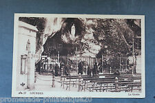 Postcard antique HEAVY - The Cave
