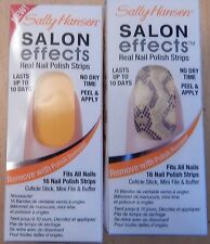 Sally Hansen Salon Effects Nail Polish Strips Set of 2 Rattlesnake + Squeezed