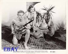 Johnny Sheffield barechested VINTAGE Photo Bomba On Panther Island