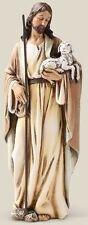 "NEW! 6"" Good Shepherd Jesus Lamb Statue Figurine Catholic Religious Gift"