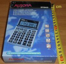Desktop Calculator DT663 Aurora new unused