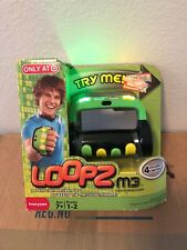 Loopz M3 Handheld Music Memory Game - Exclusive Green Edition