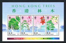 China Hong Kong 1988 Hong Kong Trees , S/S