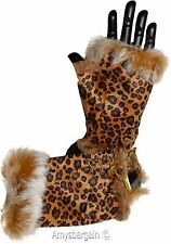 Finger-less Gloves Winter Gloves Hand/Wrist Warm leopard printed One-Size Gloves