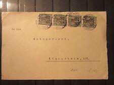 Dt. Reich - Nr. 104 Mef  auf Brief aus Eppstein 1922   (Q92)