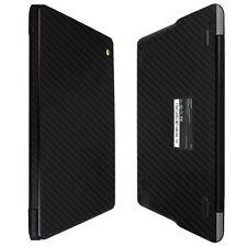 """Skinomi Black Carbon Fiber Skin Protector For Samsung Chromebook 3 11.6"""""""