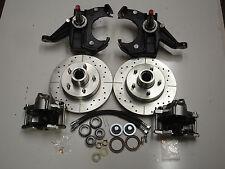 chevrolet c10  truck FRONT disc brake conversion 5 lug drop spindles 67-70