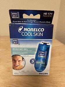 Philips Norelco HQ171 Cool Skin Nivea Shaving Gel Cartridges For Men 5 Pack