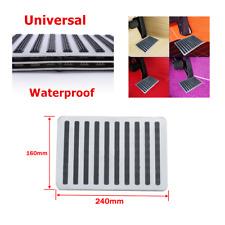 "9""x6"" Waterproof Stainless Car Floor Carpet Mat Patch Foot Heel Plate Pedal Pad"