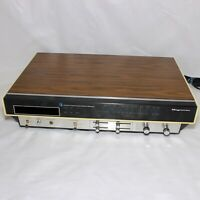 Vintage Magnavox Matrix 8 Track FM AM Stereo Receiver AS IS for Parts or Repair