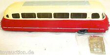 Krauss-Maffei Kml 110 Autobus Omnibus Fatto a Mano Rosso Crema H0 1:87 Vuv V&v