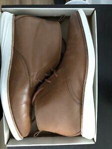 Cole Haan GrandEvolution Chukka British Tan Leather Boots  Sz 11M Pre-owned