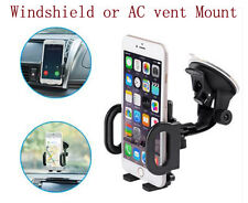 Universal Car Windshield Mount Holder For iPhone Samsung Phone GPS PDA MP4