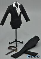 ZY Toys Female Black Color Suit & Trousers Set 1/6 Fit for 12inch action figure