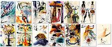Alices Adventures in Wonderland by Salvador Dali Set of 13 Prints