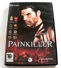 PAINKILLER - jeu / game for PC - Version Francaise  / French version