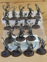 16 PLASTIC WARHAMMER SYLVANETH DRYADS WELL PAINTED (4343)