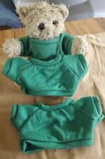 SMALL GREEN CLOTH T-SHIRT FOR TEDDY BEAR OR DOLL