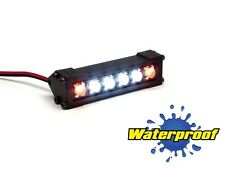 Gear Head RC 1/10 Scale Six Shooter LED Light Bar - White and Amber GEA1205