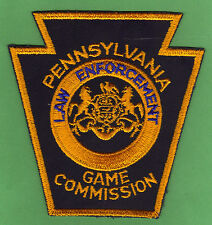 Pa Pennsylvania Game Commission Obsolete Cut Edge Law Enforcement Uniform Patch