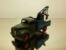 DINKY TOYS 930 COMMER RECOVERY TRUCK - DINKY SERVICE - L10.5cm - GOOD CONDITION