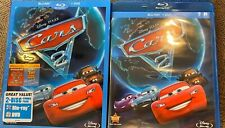 DISNEY CARS 2 BLU-RAY DVD 2011 2 DISC SET INCLUDES 2 SHORTS ORIGINAL CASE