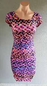 💜 KOOKAI Summer Open Back Bodycon Dress Multicolor Size 1 Buy7=FreePost L875