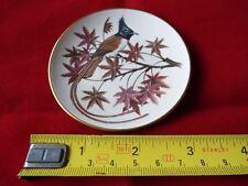 FRANKLIN PORCELAIN SONGBIRDS OF THE WORLD MINI PLATE. #22