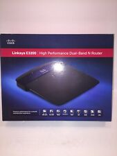 Cisco Linksys E3200 High-Performance Wireless-N Router 300 Mbps