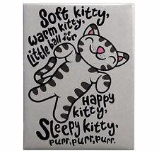 New Big Bang Theory BBT Soft Kitty Magnet 2.5 x 3.5 Sheldon Penny Purr Purr Purr