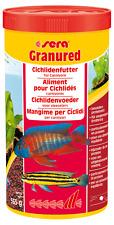 Sera Granured 1000ml Futter für Fleischfressende Barsche Cichliden Fischfutter